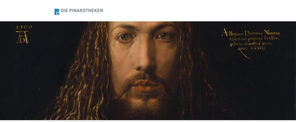 Autoportrait de Dürer, conservé à la Alte Pinakothekl de Munich