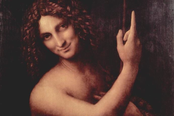 Léonard de Vinci (1452-1519), Saint Jean-Baptiste, 1508-1519, Musée du Louvre, Paris : prêt(e) à réussir ?