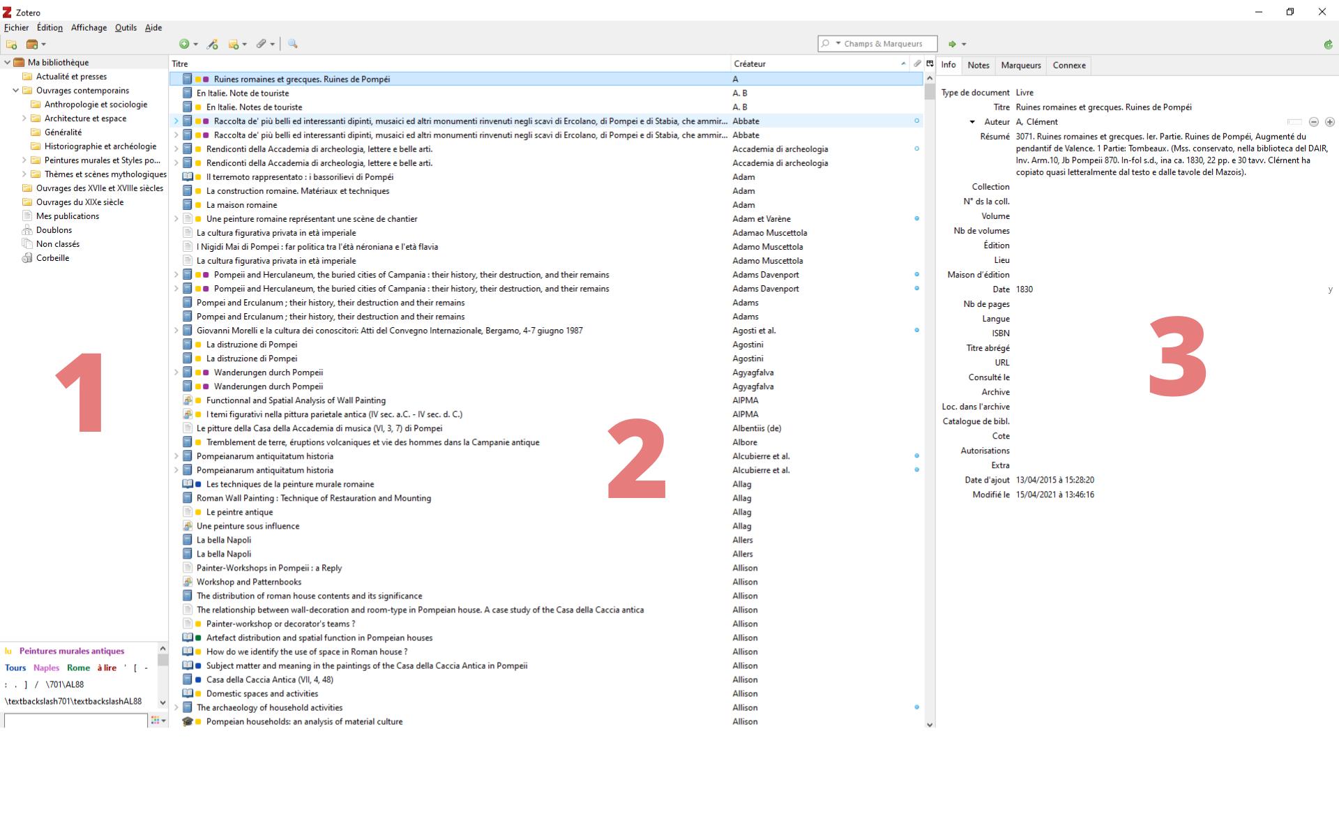 Fig. 3 : présentation du logiciel