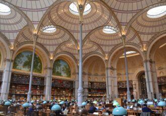 Bibliothèque Nationale de France_Salle_Labrouste_INHA_Paris : tips d'un séjour studieux à Paris