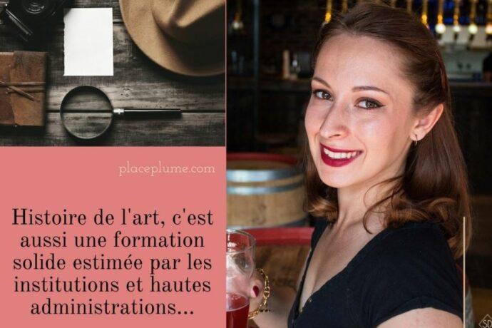 Julia Baudry - agent greffe au ministère de l'intérieur - portrait de métier #5 pour Place plume
